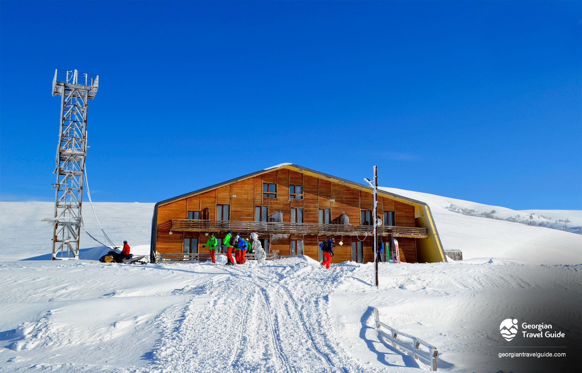 Hotel meteo at Goderdzi Ski Resort