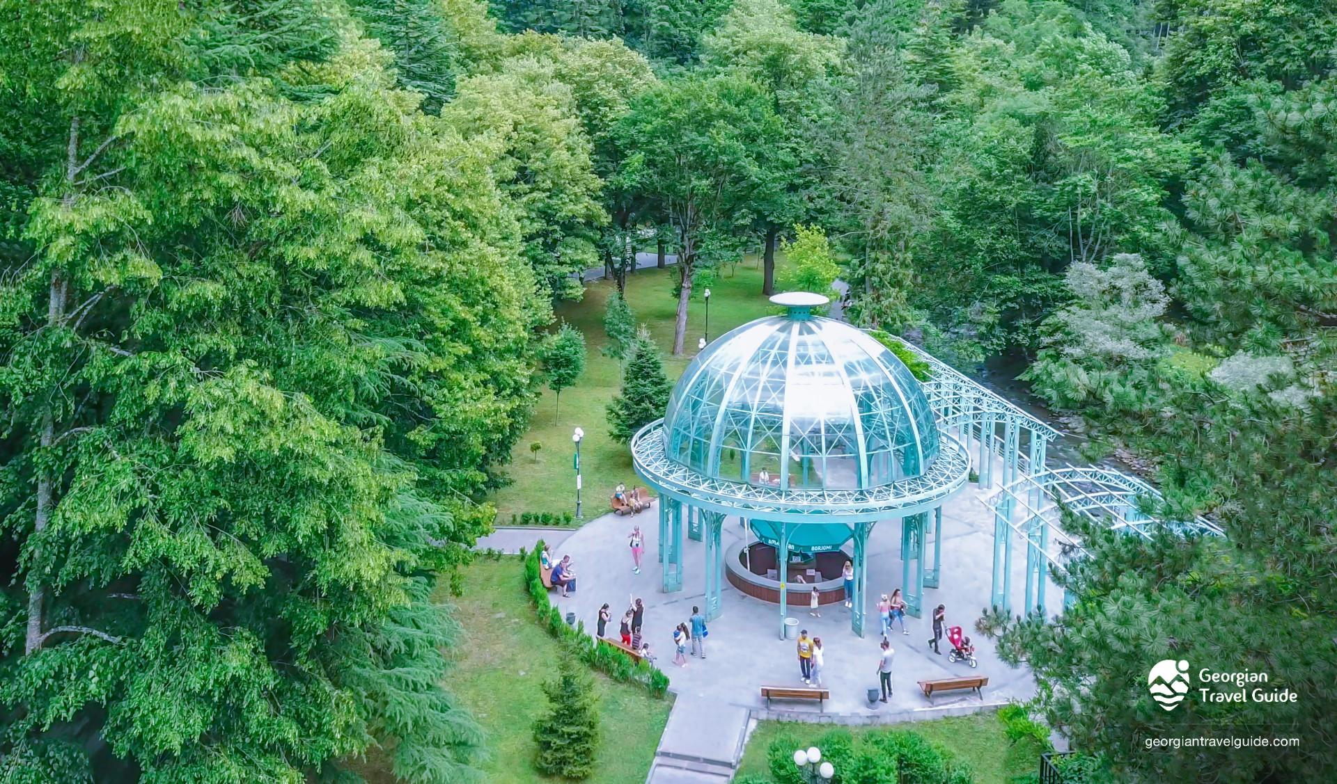 Mineral Water Park,  Borjomi Central Park, resort